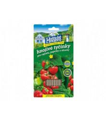 Tyčinkové hnojivo pre paradajky, papriky a uhorky - 20 ks