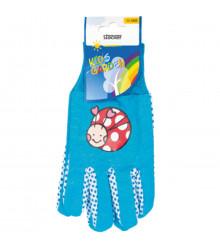 Detské pracovné rukavice Stocker - modré - 1 pár - pomôcky na pestovanie